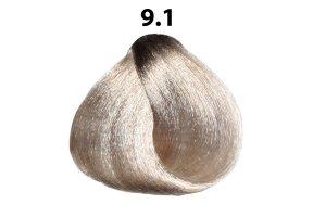 Βαφή μαλλιών Νο 9.1 ξανθό πολύ ανοιχτό σαντρέ, 100ml