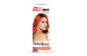 Rebellious ημιμόνιμη βαφή μαλλιών Orange Thinder, 70ml