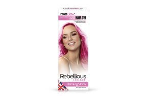 Rebellious ημιμόνιμη βαφή μαλλιών Flamingo Pink, 70ml