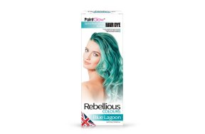 Rebellious ημιμόνιμη βαφή μαλλιών Blue Lagoon, 70ml