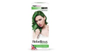 Rebellious ημιμόνιμη βαφή μαλλιών Voodoo Green, 70ml