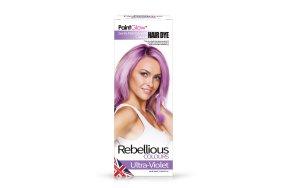 Rebellious ημιμόνιμη βαφή μαλλιών Ultra Violet, 70ml