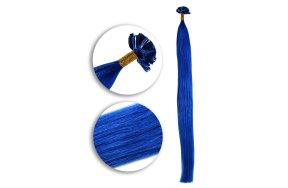 Τουφάκια Extensions #Μπλε  50cm 25τεμ