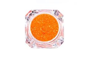 Σκόνη νέον πορτοκαλί glitter, 2.5g