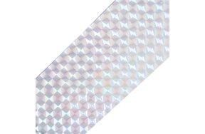 Foil νυχιών καθρέφτης ασημί
