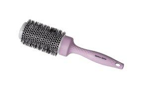Βούρτσα μαλλιών οικολογική ροζ-λιλά 44mm