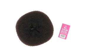 Μπομπάρι μαλλιών 14cm XL καστανό