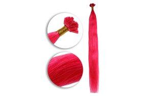 Τουφάκια Extensions #Ροζ  50cm 25τεμ