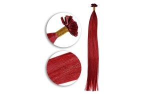 Τουφάκια Extensions #Κόκκινο  50cm 25τεμ