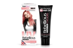 Rebellious ημιμόνιμη βαφή μαλλιών νέον Cotton Candy, 70ml